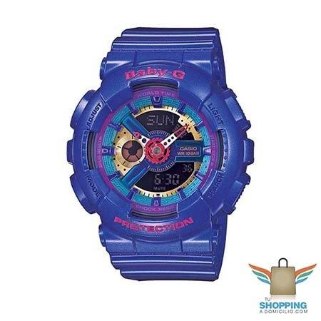 3a998f51407f Reloj Baby-G para Dama BA-112-2A Morado