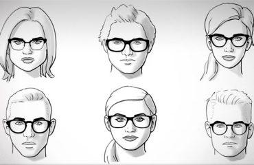 10 Consejos para elegir tus lentes según tu tipo de rostro