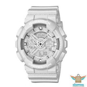 reloj g-shock blanco de casio