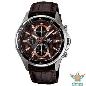Reloj Edifice con pulsera de cuero -EFR-531L 5A