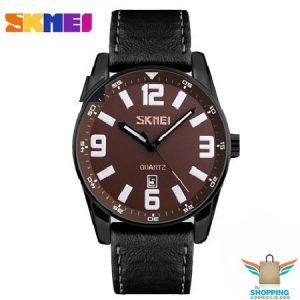 Reloj Skmei 9137 De Cuarzo Café
