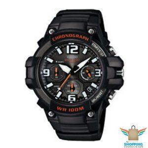 Reloj Casio Análogo y Digital MCW-100H-1AV Naranja
