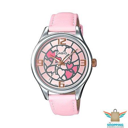2aae2073e Reloj Casio Para Dama LTP-E128L-4A | Tu Shopping a Domicilio