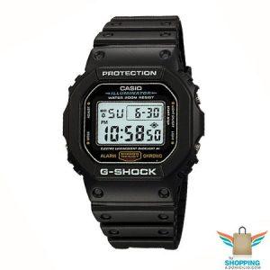 Reloj G-shock Negro DW 5600E 1V
