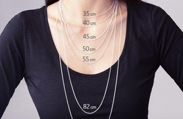 Elige correctamente el largo de tu cadena para cada ocasión